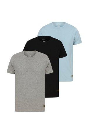 Lyle & Scott Lyle & Scott - T-shirt piżamowy MAXWELL (3-PACK)