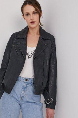Pepe Jeans Pepe Jeans - Ramoneska skórzana Amelia