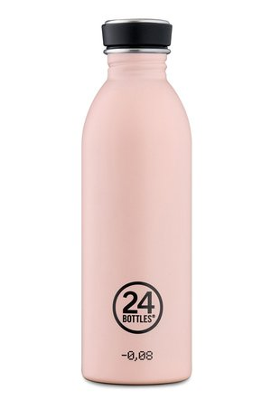 24bottles 24bottles - Butelka Urban Bottle Dusty Pink 500ml