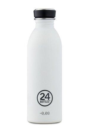 24bottles 24bottles - Butelka Urban Bottle Ice White 500ml