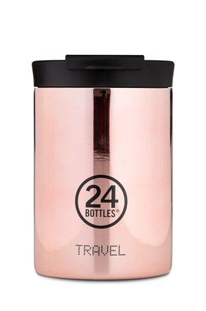 24bottles 24bottles - Kubek termiczny Travel Tumbler Rose Gold 350ml