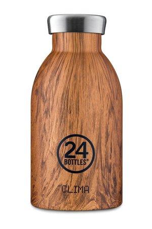 24bottles 24bottles - Butelka termiczna Clima Sequoia Wood 330ml