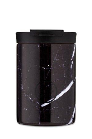 24bottles 24bottles - Kubek termiczny Travel Tumbler Black Marble 350ml