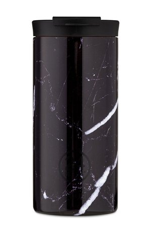 24bottles 24bottles - Kubek termiczny Travel Tumbler Black Marble 600ml