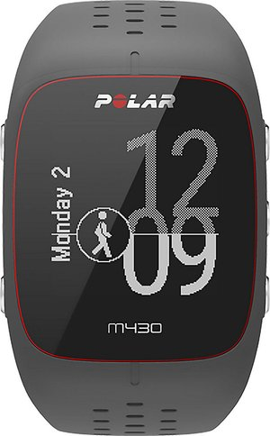 GPS heart rate monitor Polar M430-anthracite/grey/White