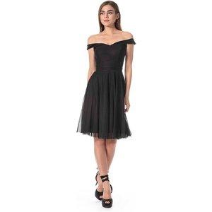 prestije de Kurzes Kleid mit Bardot-Ausschnitt