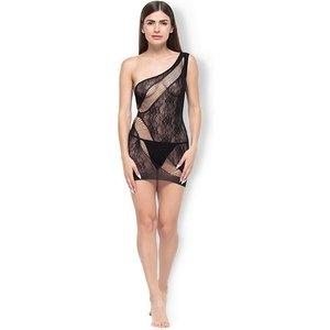 BeWicked Lingerie Asymmetrisches Kleid mit Riemen-Details