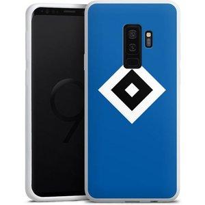 DeinDesign Handyhülle HSV Blau Samsung Galaxy S9 Plus Hülle Hamburger SV Logo HSV