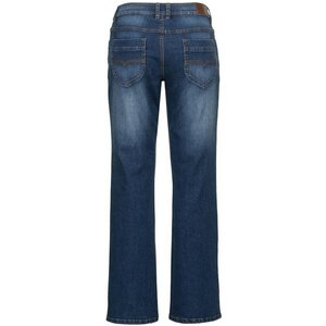 Sheego Stretch-Jeans im Used-Look