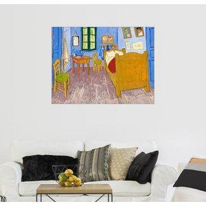 Posterlounge Wandbild Vincent van Gogh Vincents Schlafzimmer in Arles