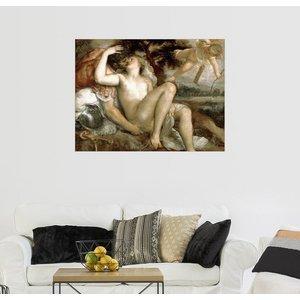 Posterlounge Wandbild Tiziano Vecellio Venus Mars und Amor