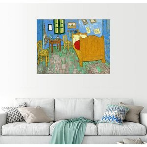 Posterlounge Wandbild Vincent van Gogh Van Gogh s Schlafzimmer in Arles