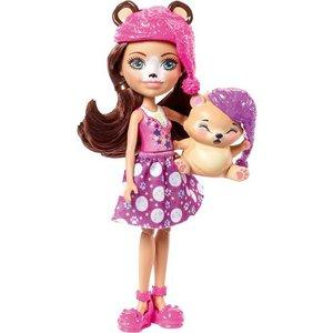 Mattel Enchantimals Bren Bear und Snore Schlafzimmer