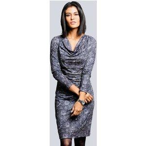 Alba Moda Kleid in dezentem Paisleyprint