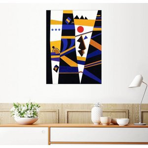 Posterlounge Wandbild Wassily Kandinsky Bindung