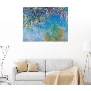 Posterlounge Wandbild Claude Monet Wisteria