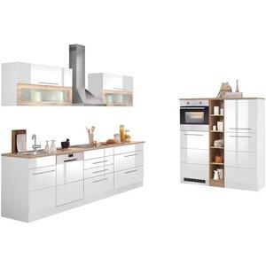 HELD MÖBEL Küchenzeile Wien mit E-Geräten Breite 440 cm wahlweise Induktion