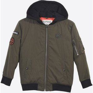 Kaporal Winterjacke mit Marken-Patches