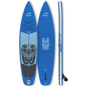 Indiana Paddle Surf Inflatable SUP-Board Indiana 11 6 Family Pack GREY Longboard Set