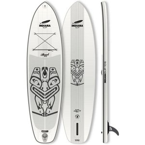 Indiana Paddle Surf Inflatable SUP-Board Indiana 10 6 Allround Inflatable Longboard Set