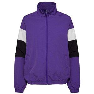 URBAN CLASSICS Winterjacke Ladies 3-Tone Crinkle Track Jacket