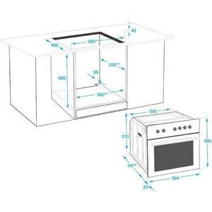 Beko Elektro-Herd-Set MHS 22322 Simple Steam Reinigungsfunktion mit Restwärmeanzeige