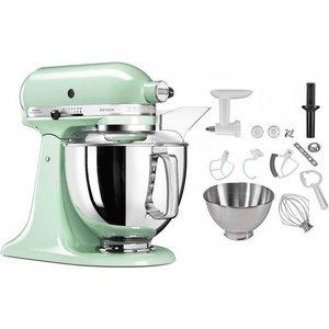 KitchenAid Küchenmaschine 5KSM175PSEPT Artisan 300 W 4 83 l Schüssel inkl Sonderzubehör im Wert von ca 106 UVP