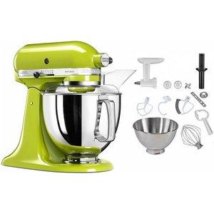 KitchenAid Küchenmaschine 5KSM175PSEGA apfelgrün 300 W 4 83 l Schüssel inkl Sonderzubehör im Wert von ca 106 UVP