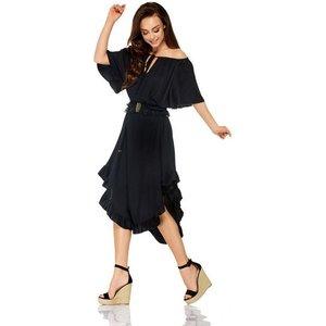 lemoniade Modisches Kleid mit Rüschen