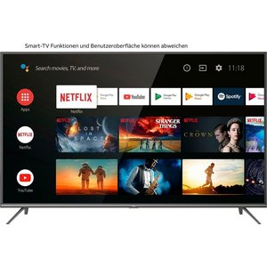 TCL 43EP644 LED-Fernseher 108 cm 43 Zoll 4K Ultra HD Smart-TV Android 9 0 Betriebssystem