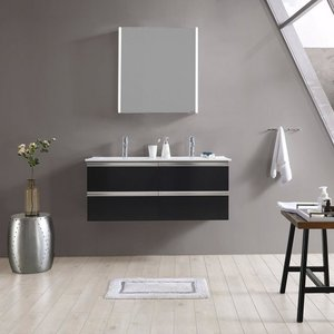 maw Badezimmerspiegelschrank A-SP6070 LED-Spiegelschrank 1-teilig 60x12x70 cm