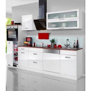 HELD MÖBEL Küchenzeile Fulda mit E-Geräten Breite 280 cm