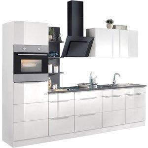 HELD MÖBEL Küchenzeile Brindisi mit E-Geräten Breite 270 cm