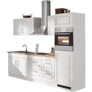 HELD MÖBEL Küchenzeile Stockholm mit E-Geräten Breite 270 cm