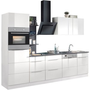 HELD MÖBEL Küchenzeile Brindisi mit E-Geräten Breite 280 cm