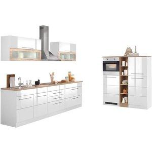 HELD MÖBEL Küchenzeile Wien mit E-Geräten Breite 430 cm wahlweise Induktion