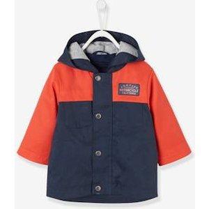 Vertbaudet 3-in-1-Jacke für Baby Jungen blau rot Gr 68 von