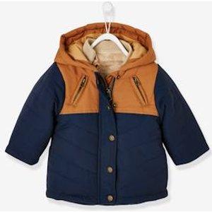 Vertbaudet 3-in-1 Winterjacke für Baby Jungen nachtblau Gr 62 von