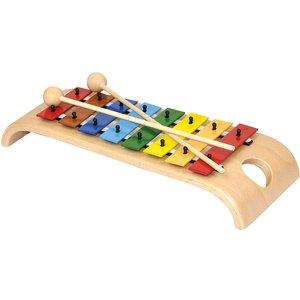 Baby-Composer App mit Glockenspiel bunt