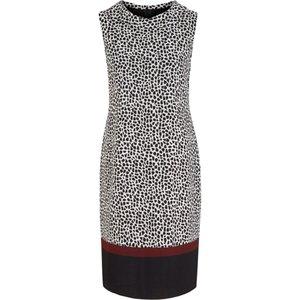 S Oliver Black Label Gemustertes Crepe-Kleid
