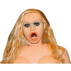 "Liebespuppe Carmen Luvana"" mit herausnehmbarem Masturbator und Vibration"