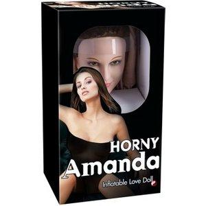 """Orion Liebespuppe Horny Amanda"""" mit 3D-Gesicht und Vibroei"""