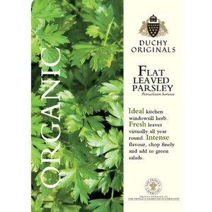 Parsley (Flat Leaved) - Duchy Originals Organic Seeds