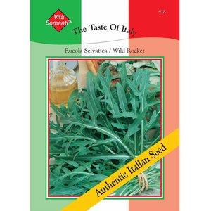 Wild Rocket (Rucola Selvatica) - Vita Sementi Italian Seeds