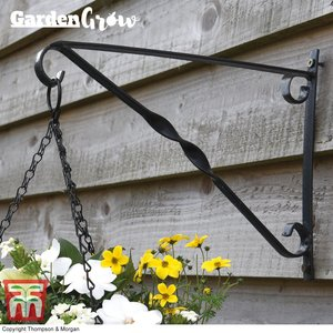 Garden Grow Hanging basket wall bracket 25cm x 36cm