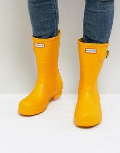Read more about Hunter original short wellies in yellow - yellow