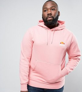 Read more about Ellesse plus hoodie with small logo - pink