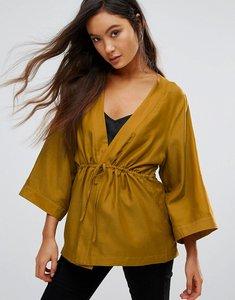 Read more about Gestuz janet silk kimono blouse - tepanade