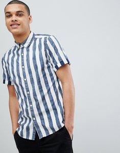 Read more about Esprit slim fit short sleeve stripe shirt - 400