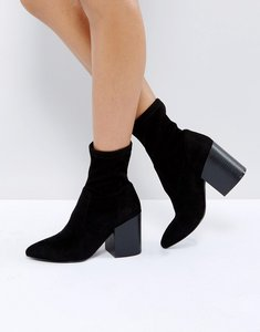 Read more about Asos elmo sock boots - black